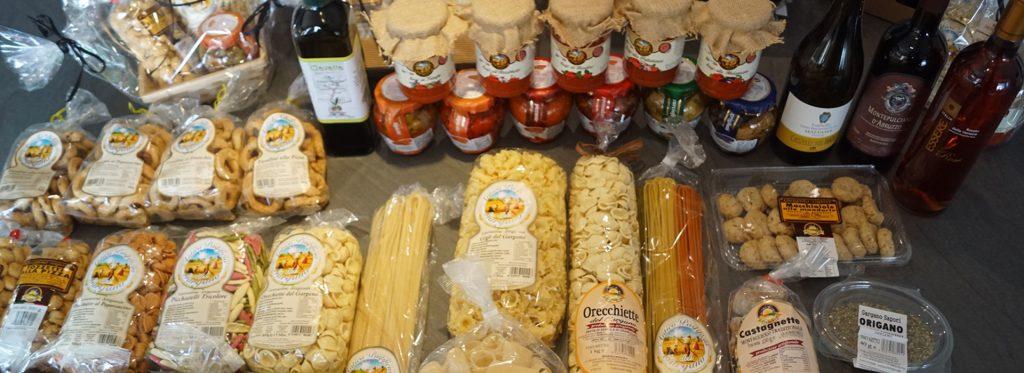 delice di Puglia, épicerie Italienne à Bordeaux, des pâtes, des antipasti, des sauces... Tarif comité d'entreprise